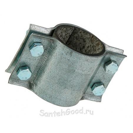 Хомут ремонтный двухсторонний с резинкой 1/2″ (21 - 23 мм)