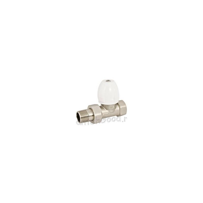 Вентиль радиаторный регулировочный прямой 1/2″