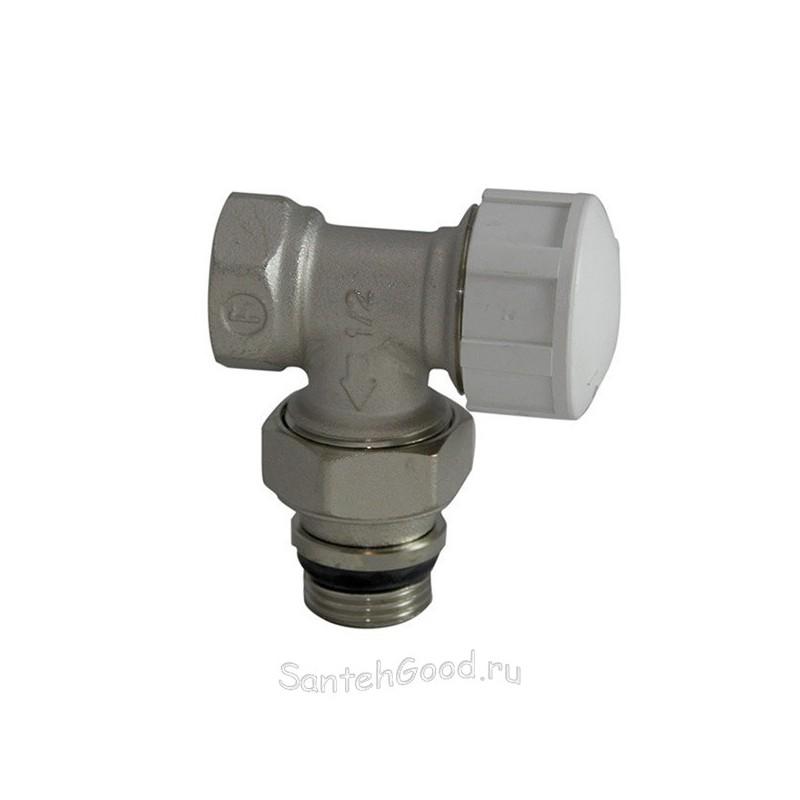 Вентиль для радиатора угловой термостатический (под термоголовку) 1/2″