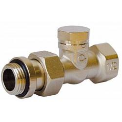 Клапан для радиатора нижний прямой 3/4″