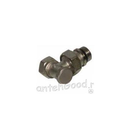 Клапан для радиатора нижний угловой 1/2″