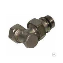 Клапан для радиатора нижний угловой 3/4″