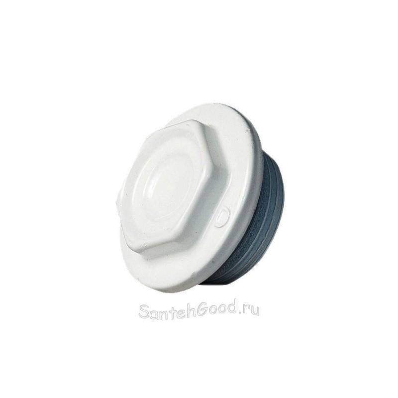 Пробка радиаторная глухая 1″ левая S