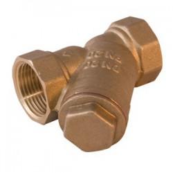 Фильтр косой для грубой очистки воды с сеткой 400 мкм 1/2″