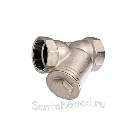 Фильтр механической очистки косой (резьба внутренняя-внутренняя) VALTEC 1/2″