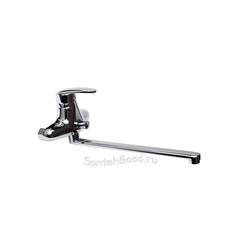 Смеситель для ванной однорычажный KAISER NOVA 23055 хром
