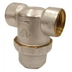 Фильтр для грубой очистки воды Т-образный с сеткой 1/2″ внутр/внутр