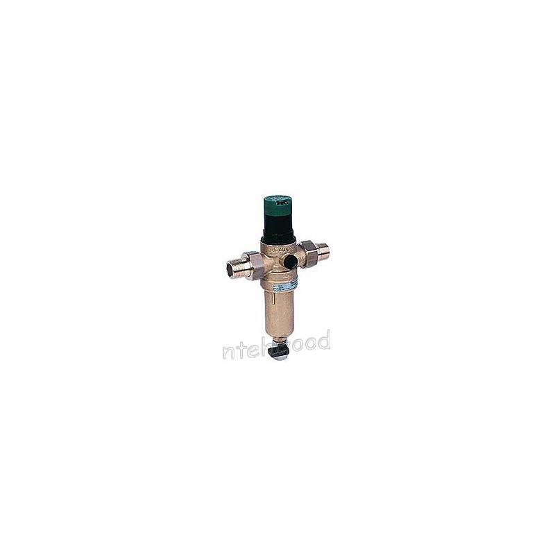 Фильтр HONEYWELL 1/2″ FК06-1/2 AAМ 100мк с редуктором давления (латунь)