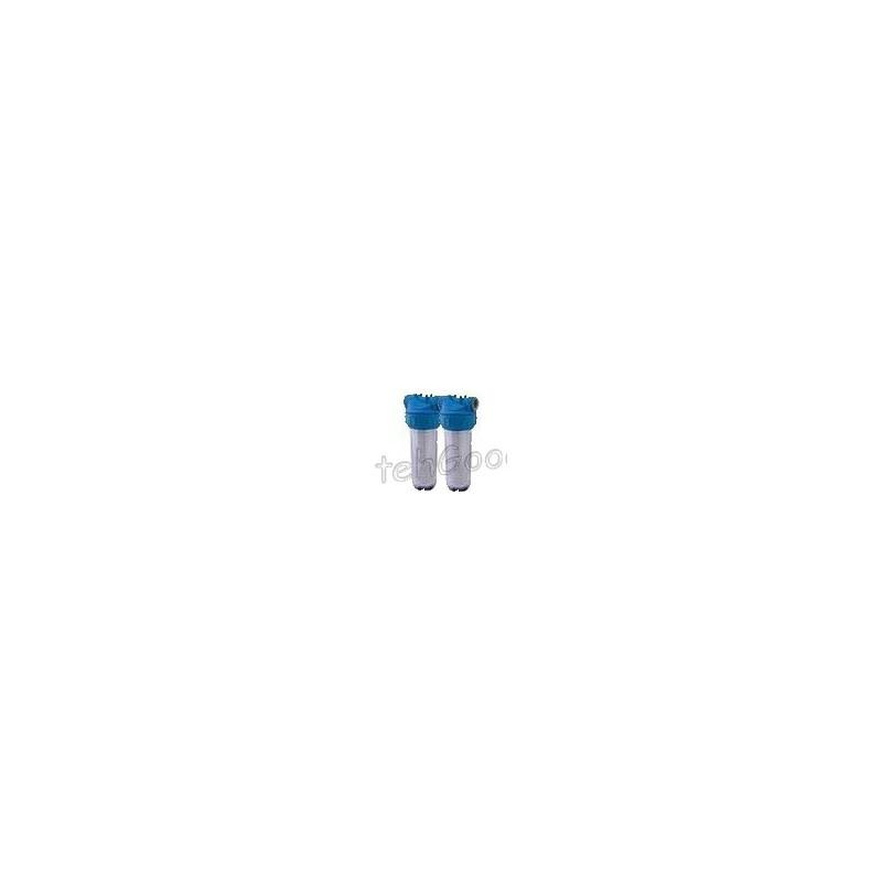 Фильтр 2-х корпусной для очистки воды