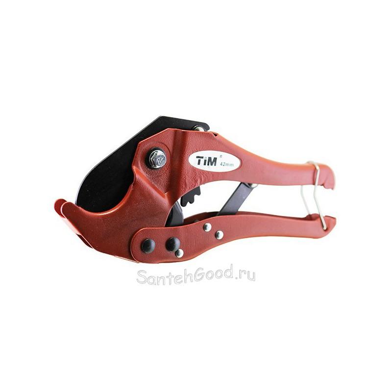 Ножницы для металлопластиковых труб до 42 мм (красные) TIM
