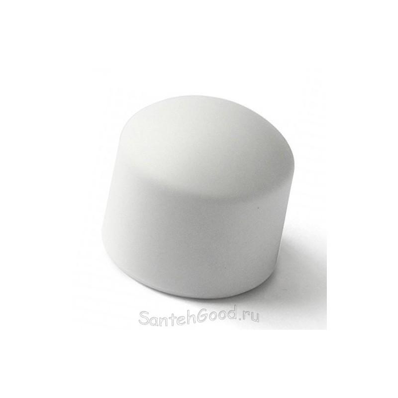 Заглушка полипропилен бел. 25мм вн.