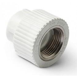 Муфта комбинированная полипропилен с внутренней резьбой 25-1/2″ Pro Aqua PA22012P