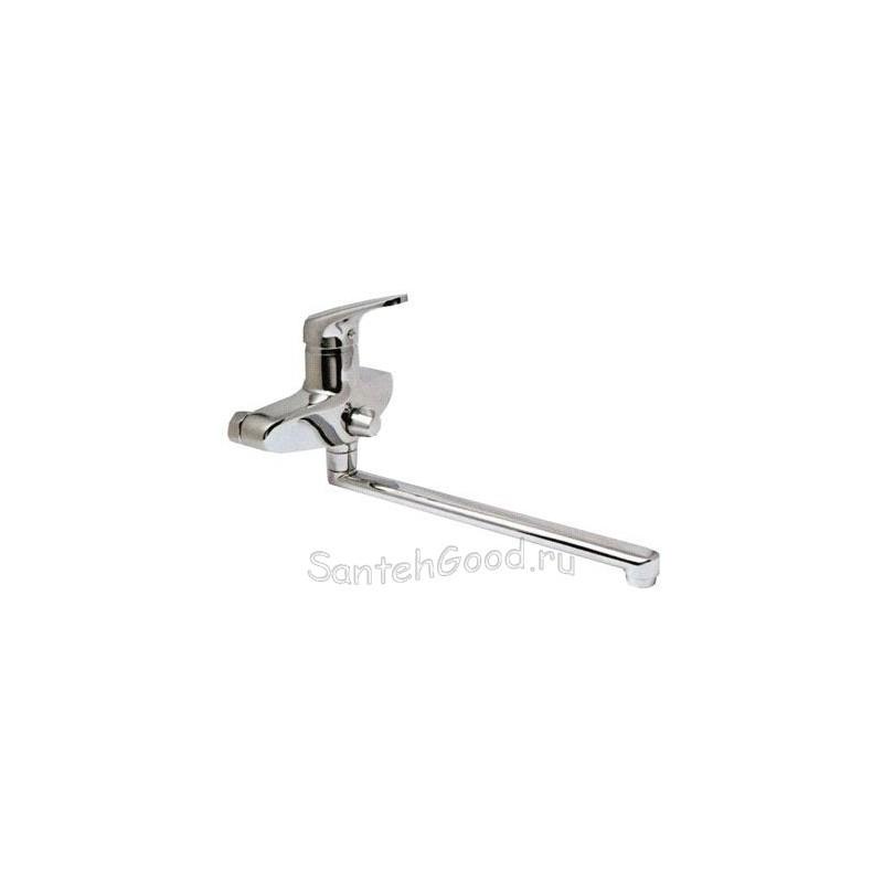 Смеситель для ванной однорычажный KAISER COUNTY 55255 хром