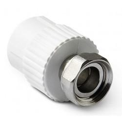 Муфта полипропилен с накидной гайкой 25-1″ Pro Aqua PA29015