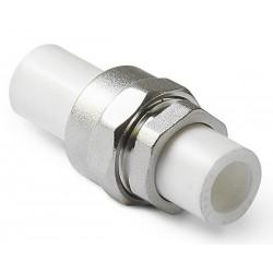 Соединение разъемное полипропилен d-25 Pro Aqua PA72010
