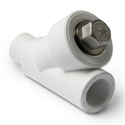 Фильтр сетчатый PP-R полипропилен косой 25 внутренний / наружный Pro Aqua PA450010