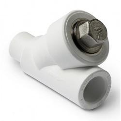 Фильтр PP-R полипропиленовый сетчатый косой 32 внутренний / наружный Pro Aqua PA450012