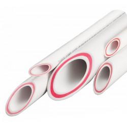 Труба полипропиленовая армированная стекловолокном 20 х 3,4 Pro Aqua PA37008P