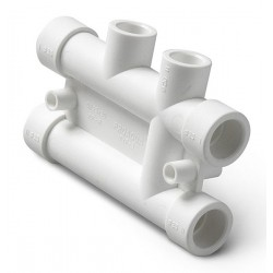 Распределительный блок из полипропилена для систем отопления 25-20 Pro Aqua PA63010P