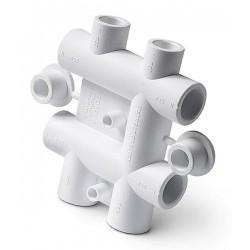 Распределительный блок полипропиленовый для систем водоснабжения 25-20 Pro Aqua PA63012P