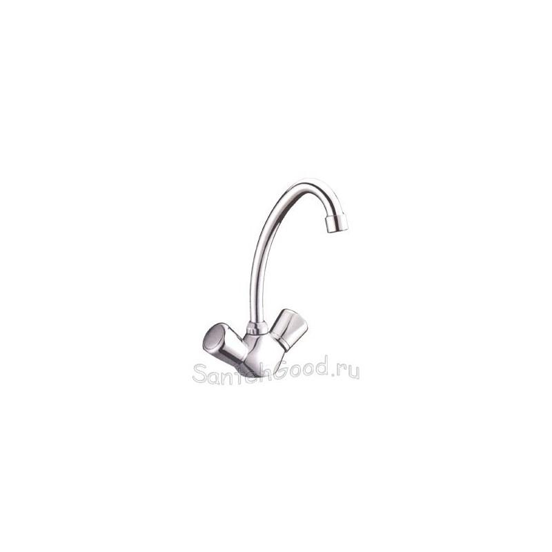 Смеситель для кухни двухвентильный ELGHANSA 5930065 хром