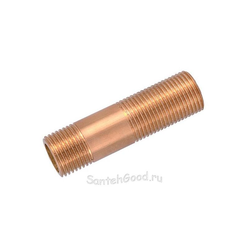 Сгон латунный 1/2″ х 75 мм PROFACTOR