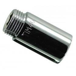 Удлинитель 1/2″ х 25 мм внутр. / наружн. (хром) TIM
