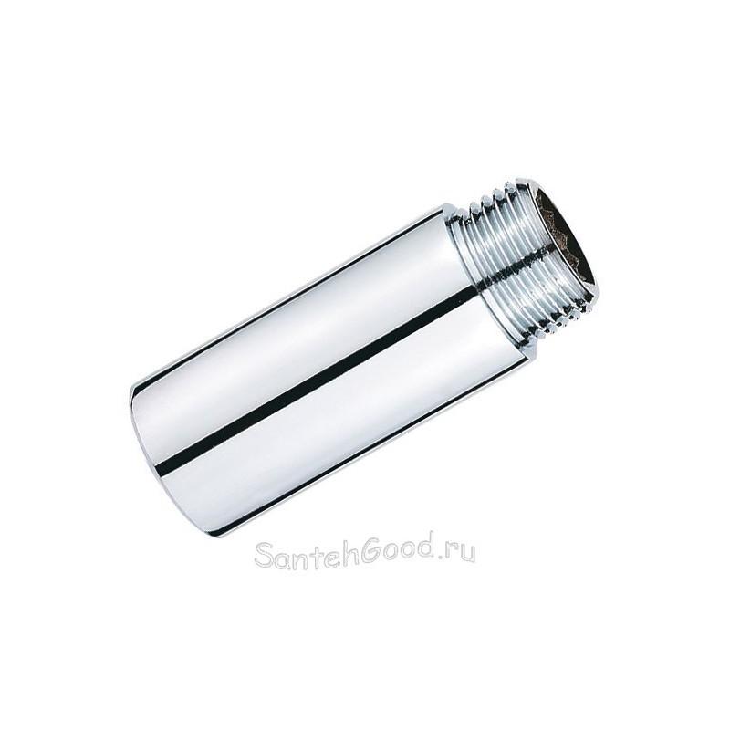 Удлинитель резьбовой 1/2″ х 100 мм (хром) PROFACTOR