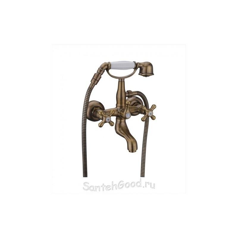 Смеситель для ванной двухвентильный ELGHANSA RETRO 2700754 бронза