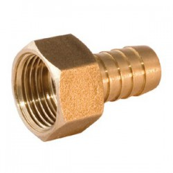 Штуцер для шлангов 1/2″ вн х 9 мм латунь SM