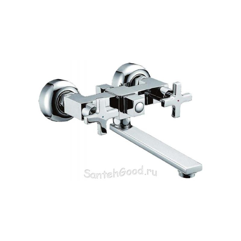 Смеситель для ванной двухвентильный ELGHANSA CHRISTINA 2702451-20 хром