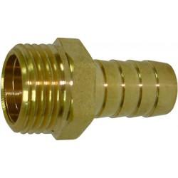 Штуцер для шлангов 1/2″ нар х 14 мм латунь SM