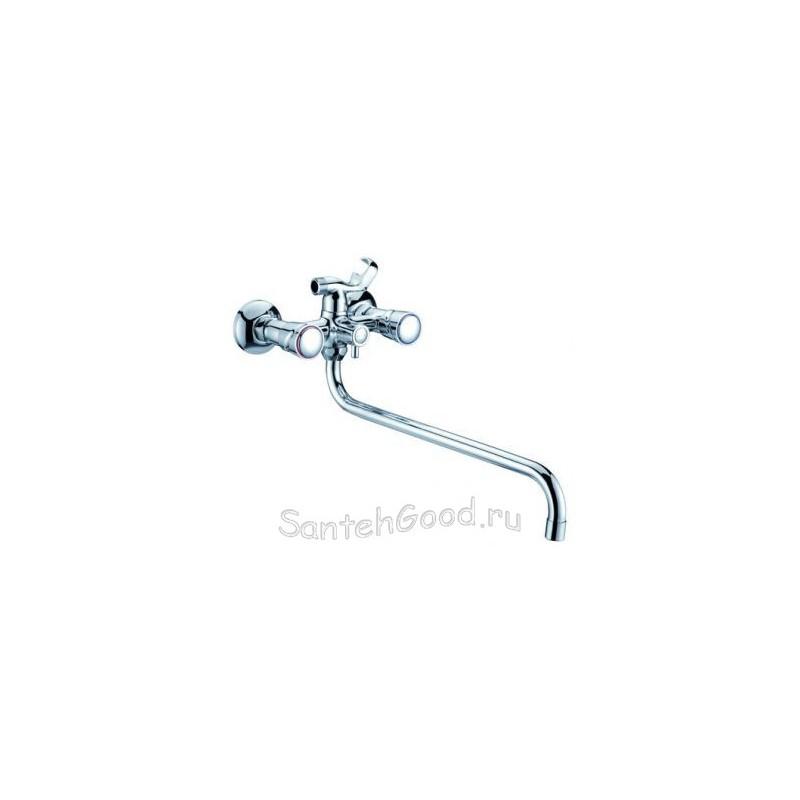 Смеситель для ванной двухвентильный ELGHANSA 2702773 хром