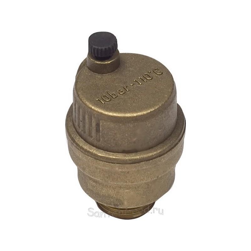 Воздухоотводчик авт.3/8″ KAISER комплект+клапан 1/2″