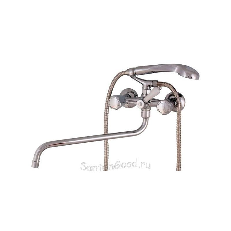 Смеситель для ванной двухвентильный ELGHANSA 2720165 хром