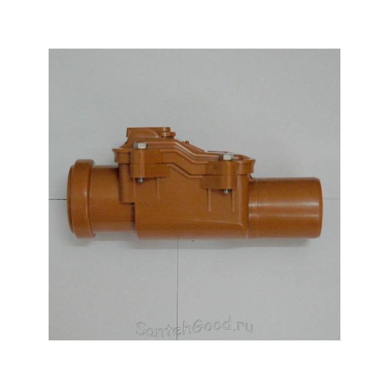 Обратный клапан для канализации d-50-1