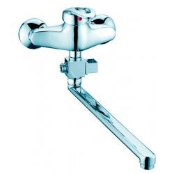 Смеситель для ванной однорычажный ELGHANSA 3301613 хром