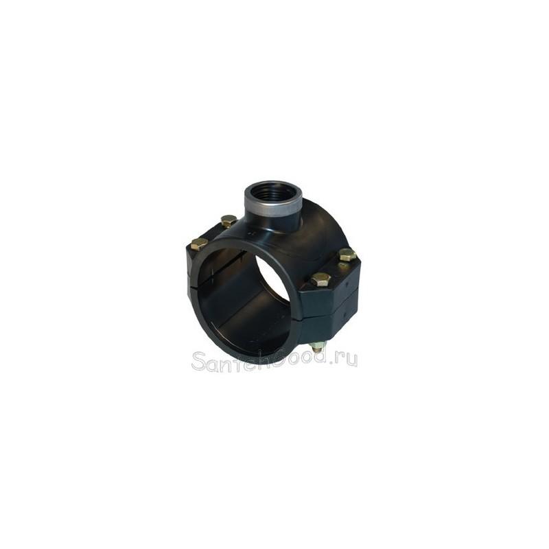 ПНД водоотвод 50-3/4'' с металлическим кольцом