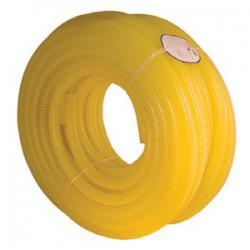 Шланг поливочный  1 1/4″ армированный жёлтый бухта 30 м