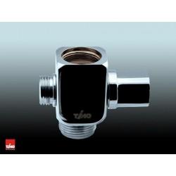 Дивертор керамический для смесителя и душа 3/4″ х 1/2″ х 3/4″ TIMO R 230