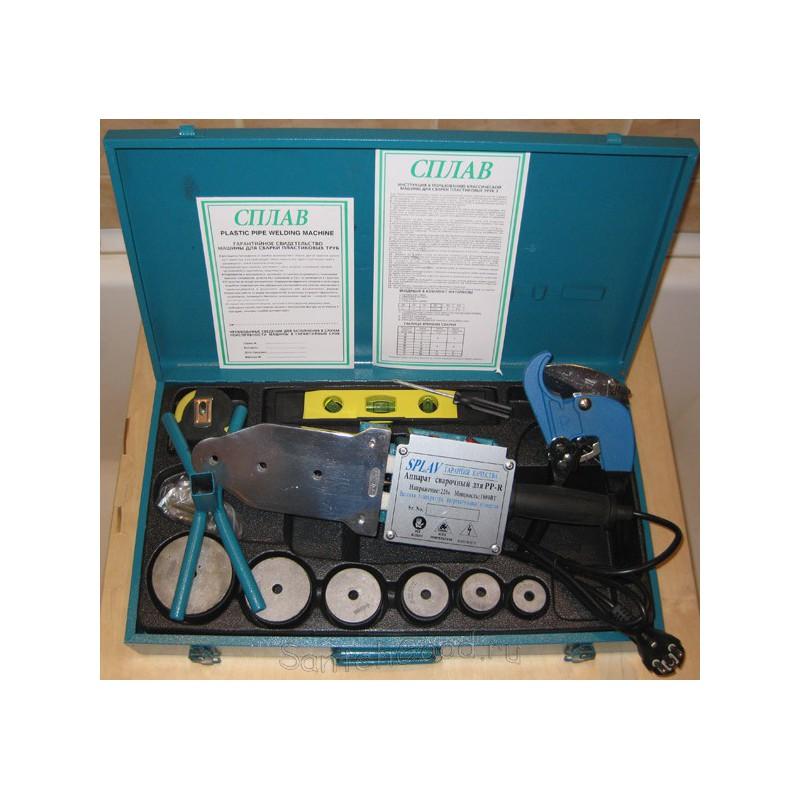 Сварочный аппарат (паяльник) для полипропиленовых труб СПЛАВ А4 - 1