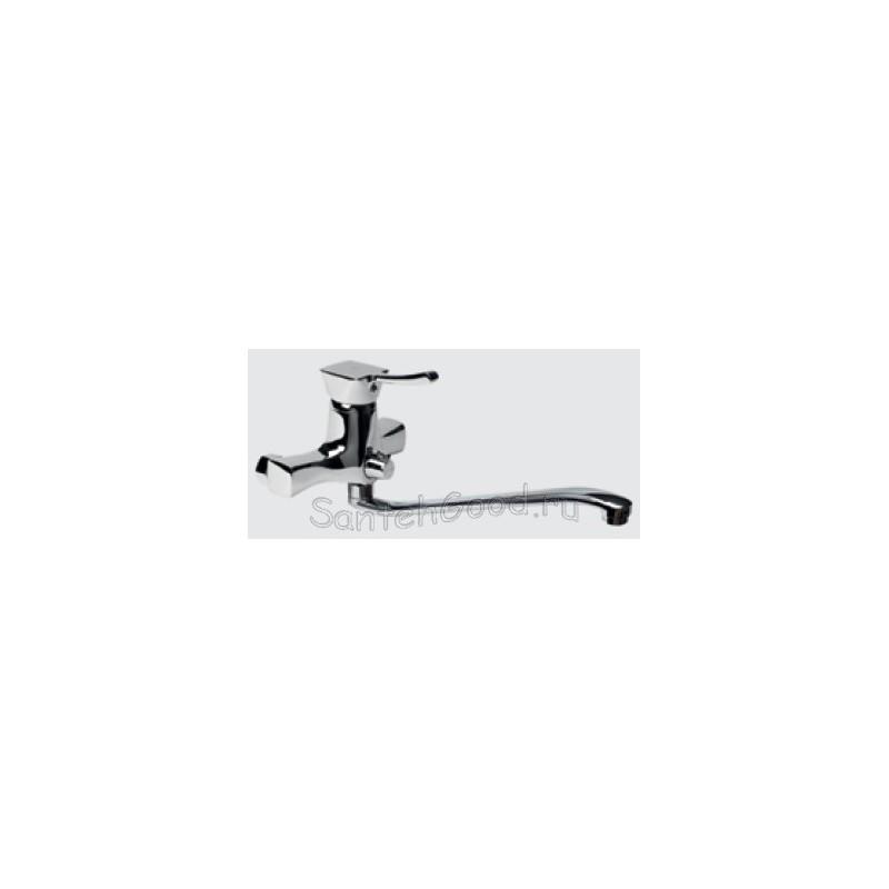 Смеситель для ванной однорычажный KAISER VERONA 29055B хром