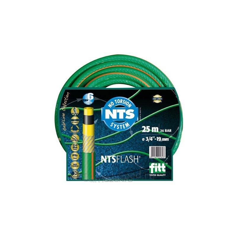 FLASH NTS Шланг поливочный 5-и слойный зелёный 3/4″ бухта 25 м-1