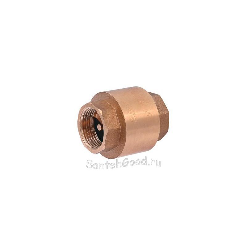 Обратный клапан 1/2″ с латунным механизмом PROFACTOR