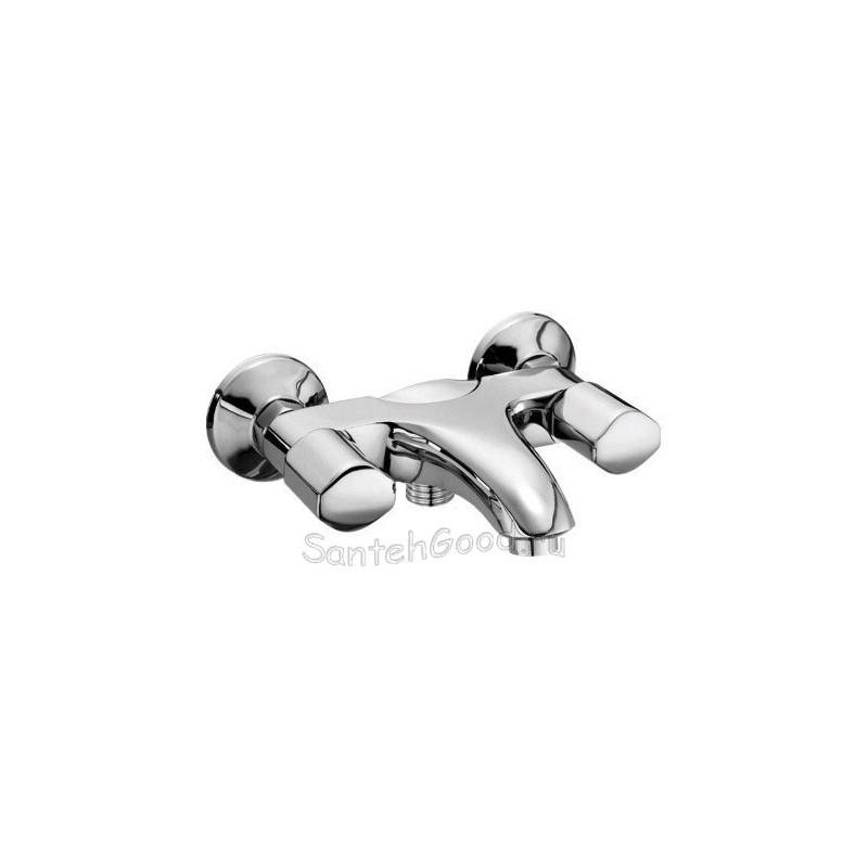 Смеситель для ванной двухвентильный KAISER FORTE 45022 хром