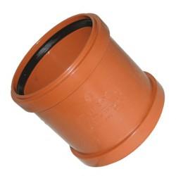 Муфта канализационная ПВХ наружная d-160