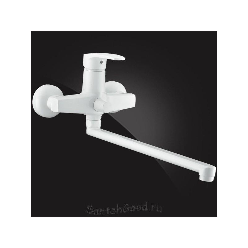 Смеситель для ванной однорычажный ELGHANSA MONICA 5322319 White