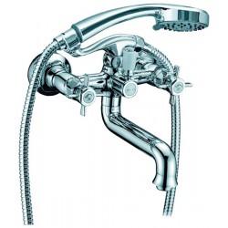 Смеситель для ванной двухвентильный ELGHANSA PRAKTIC 2312660 хром