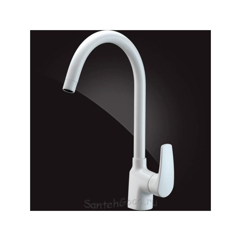 Смеситель для кухни однорычажный ELGHANSA MONICA 5622319 White