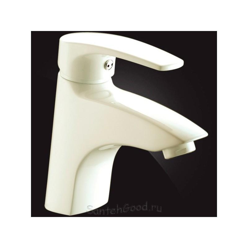 Смеситель для раковины однорычажный ELGHANSA MONICA 1622319 Ivory